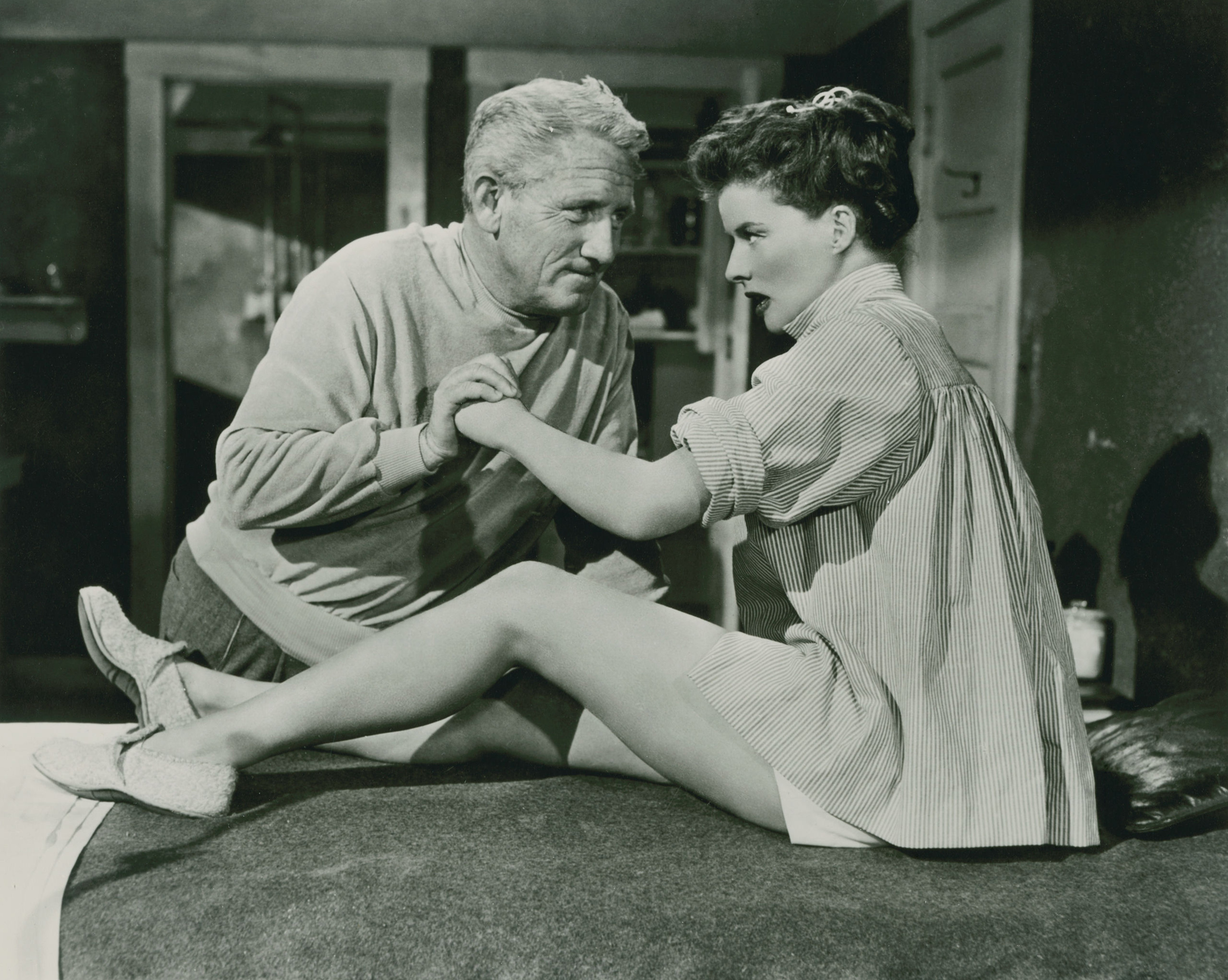 Spencer Tracy with Joan Bennett
