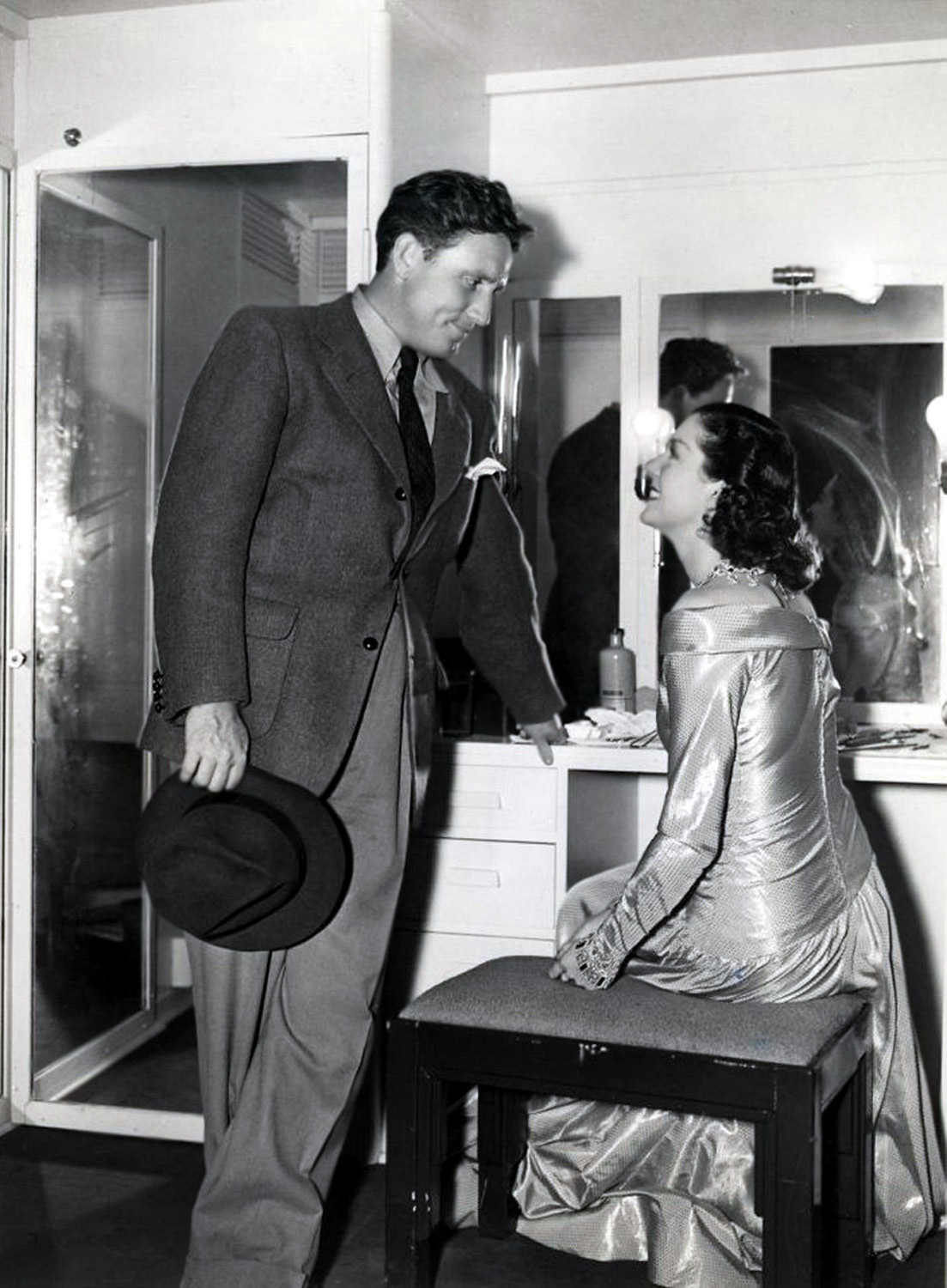 Spencer Tracy with Rosalind Russell