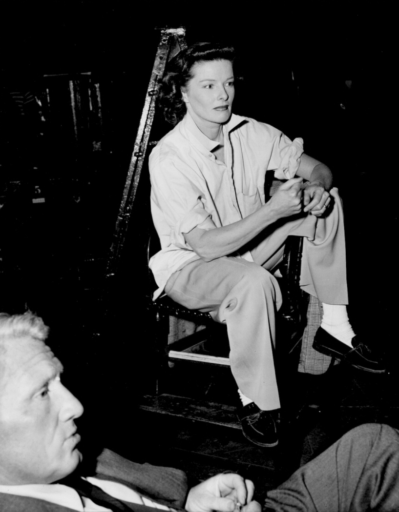 Spencer Tracy with Katharine Hepburn