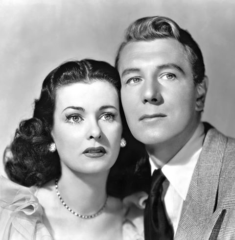 Michael Redgrave & Joan Bennett
