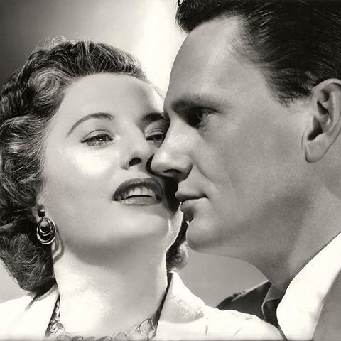 Wendell Corey & Barbara Stanwyck