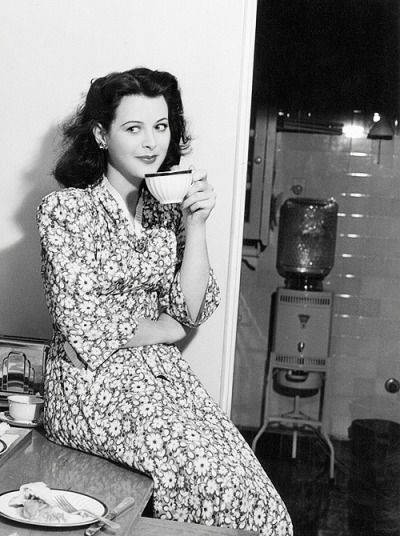 Hedy Lamarr at Home -1940s