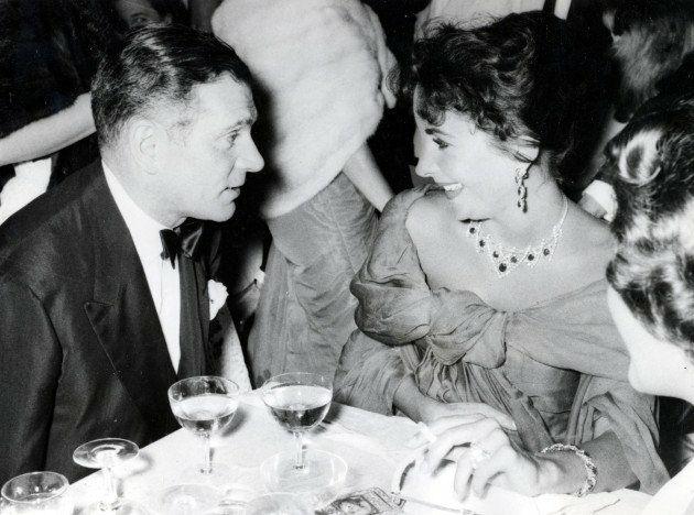 Sir Laurence Olivier & Elizabeth Taylor -1958