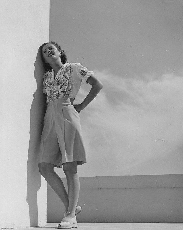 Barbara Stanwyck circa 1940