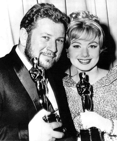 Peter Ustinov & Shirley Jones