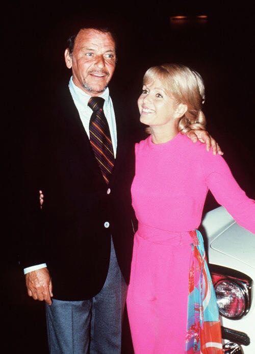 Frank Sinatra with Debbie Reynolds