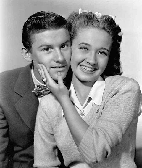 Roddy MacDowall & Jane Powell