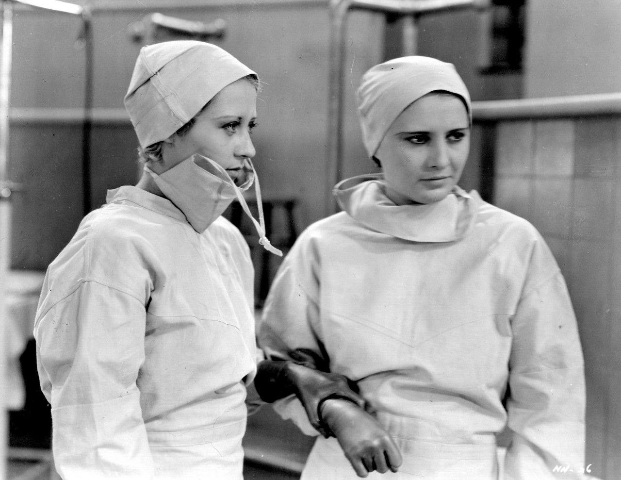 Joan Blondell & Barbara Stanwyck