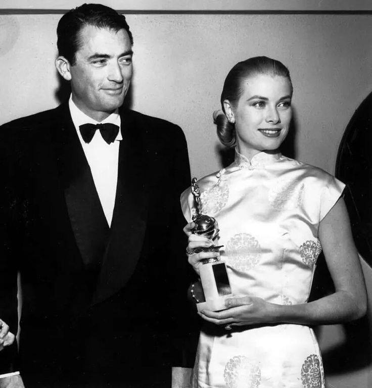 Grace Kelly & Gregory Peck