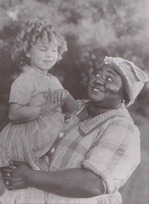 Shirley Temple and Hattie McDaniel