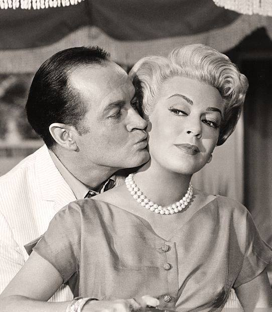 BOB HOPE & LANA TURNER