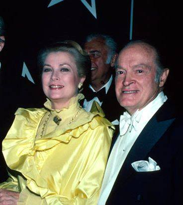 Princess Grace with Bob Hope