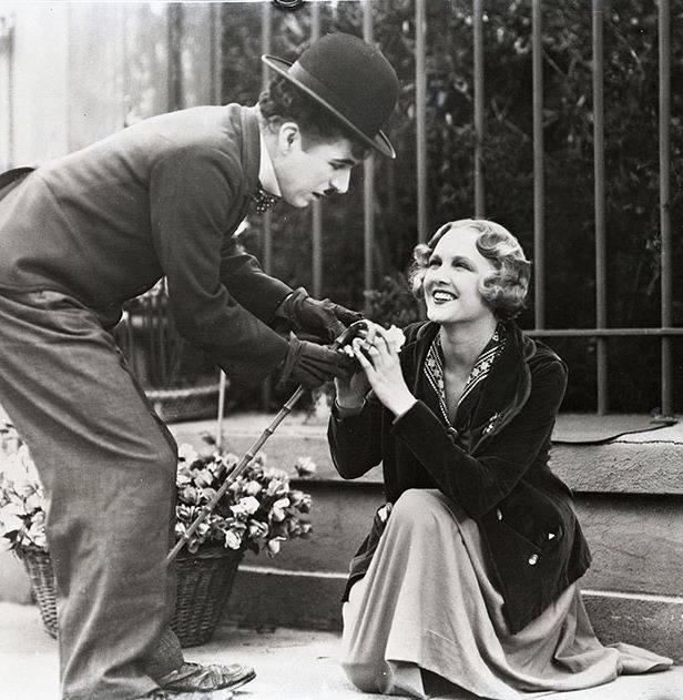 Charlie Chaplin & Virginia Cherrill