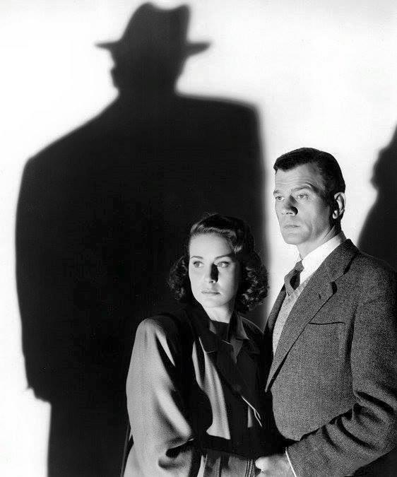 Alida Valli & Joseph Cotten