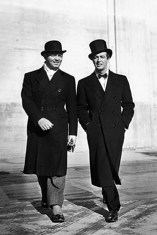 Clark Gable & Robert Taylor