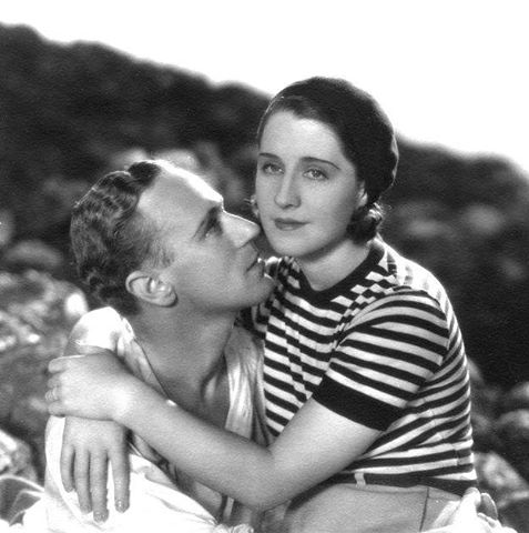 LESLIE HOWARD & NORMA SHEARER