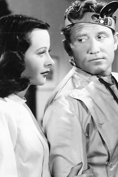 Hedy Lamarr & Spencer Tracy