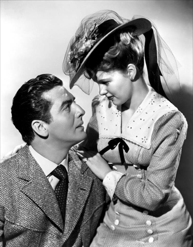 Victor Mature e Peggy Cummins