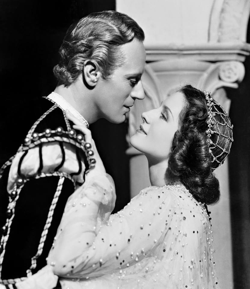 Leslie Howard e Norma Shearer