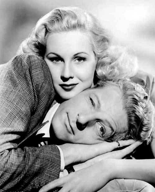 Danny Kaye e Virginia Mayo