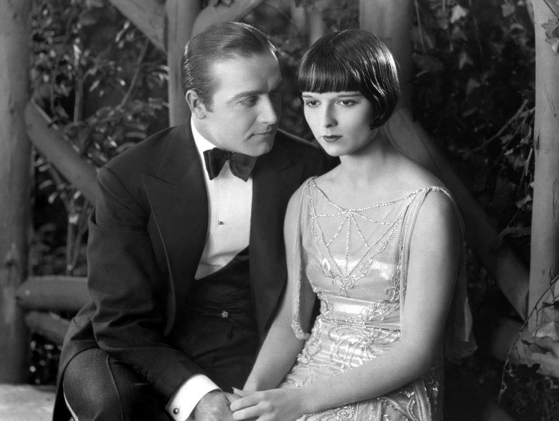 Hugh Huntley e Louise Brooks