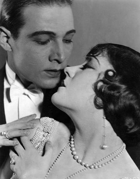 Rodolfo Valentino e Gloria Swanson