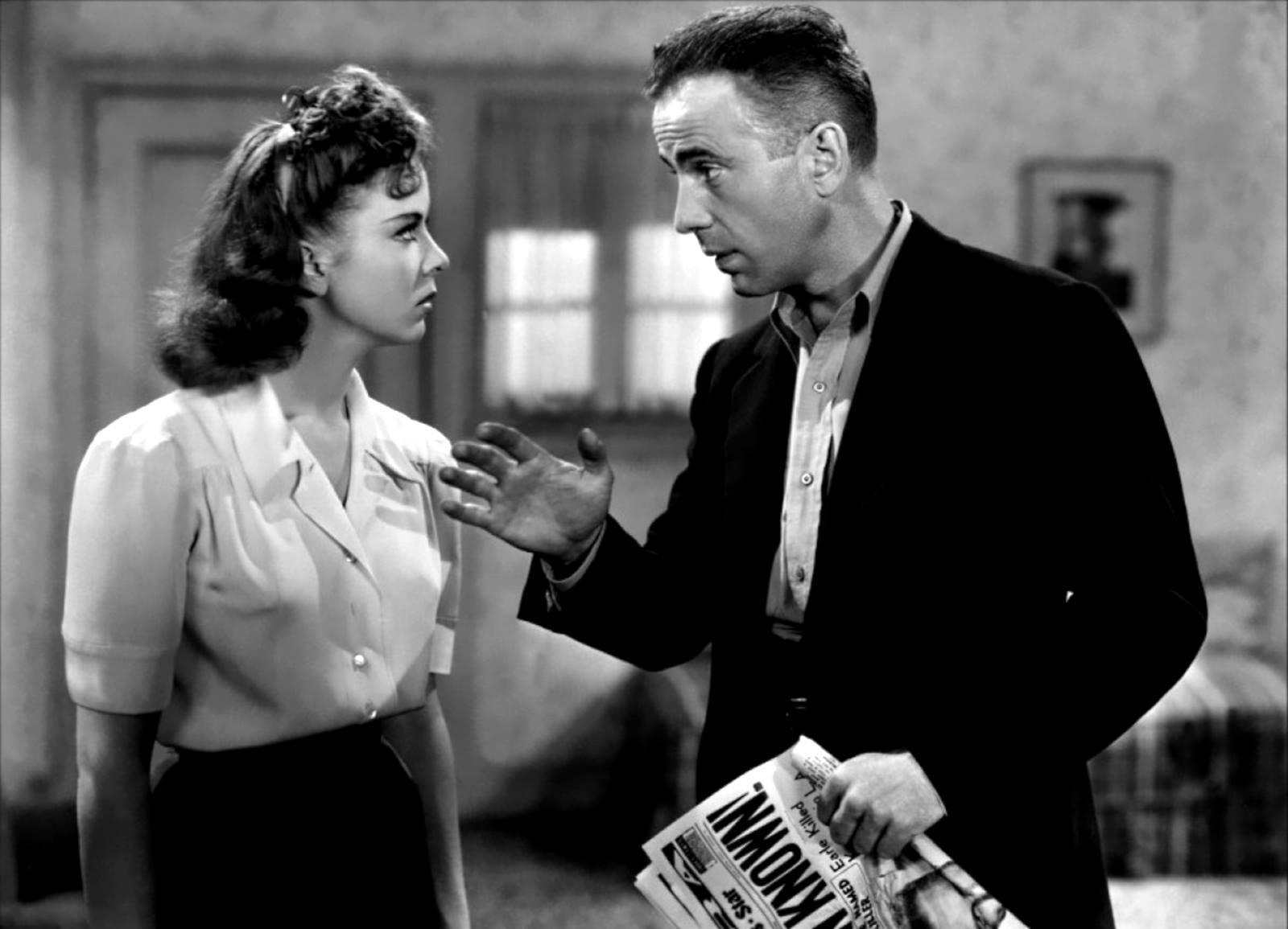 Humphrey Bogart e Ida Lupino