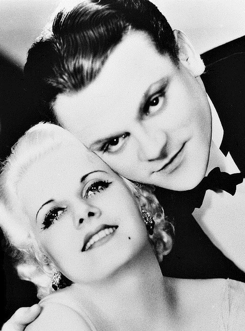 James Cagney e Jean Harlow