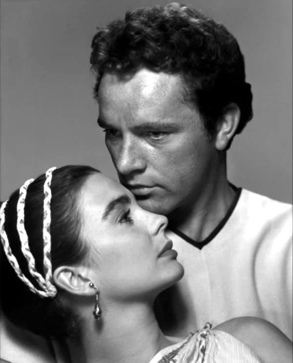 Richard Burton e Jean Simmons