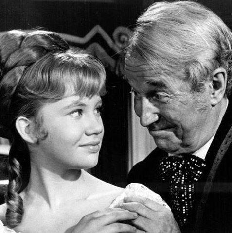Maurice Chevalier & Hayley Mills