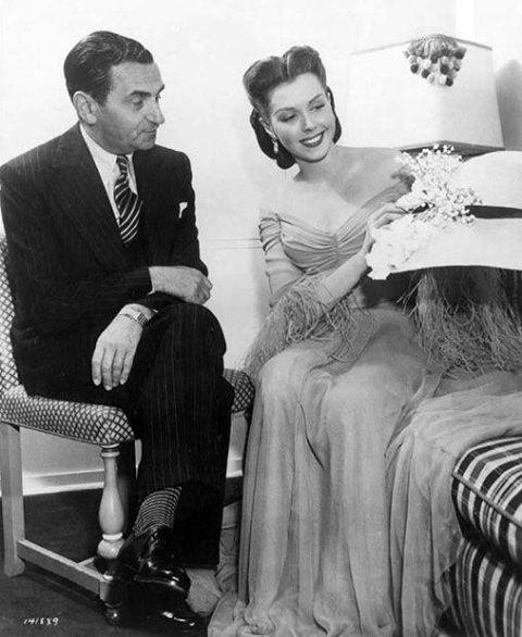 Irving Berlin and Ann Miller