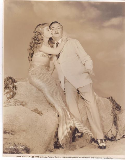 Ann Blyth and William Powell