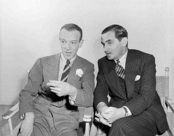 Irving Berlin and Fred Astaire