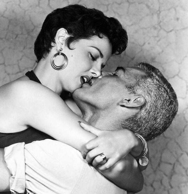 JEFF CHANDLER & JANE RUSSELL