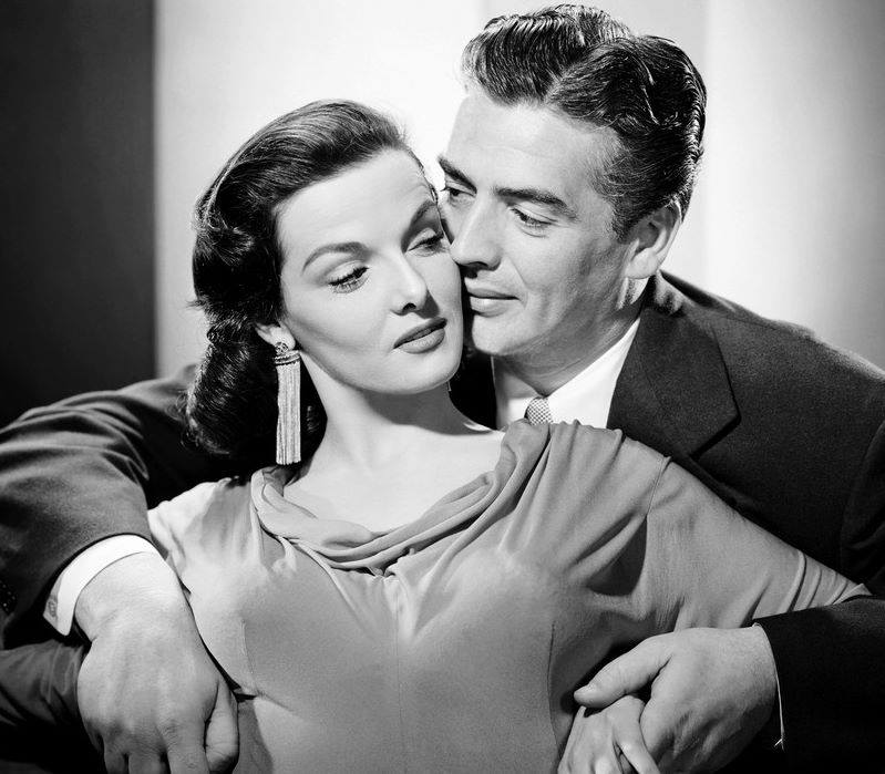 VICTOR MATURE & JANE RUSSELL