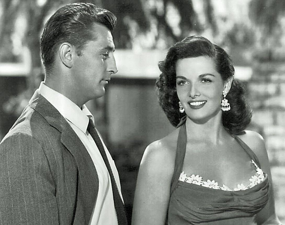 ROBERT MITCHUM & JANE RUSSELL
