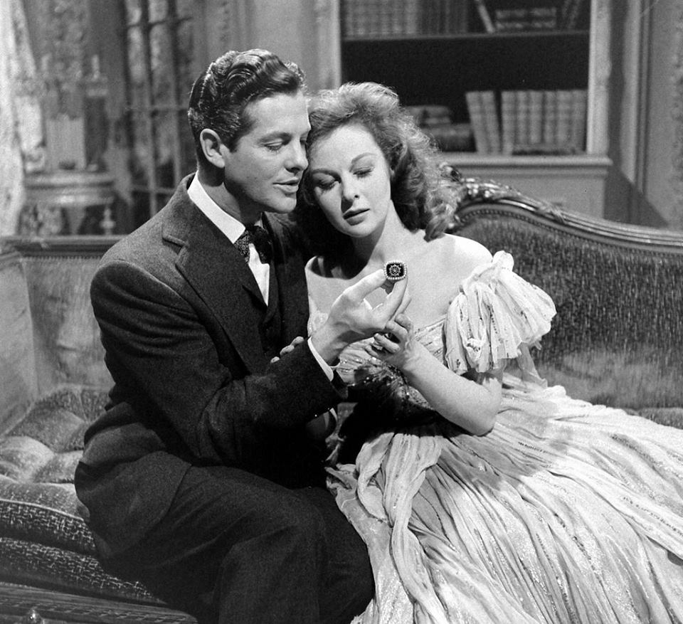 ROBERT CUMMINGS & SUSAN HAYWARD