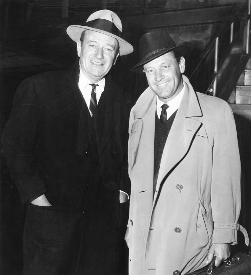 John Wayne and William Holdren.