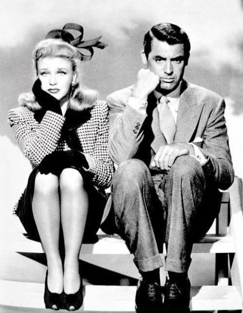 Ginger Rogers & Cary Grant