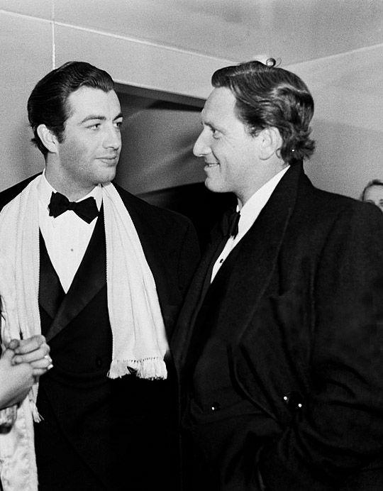 Bob Taylor & Spencer Tracy