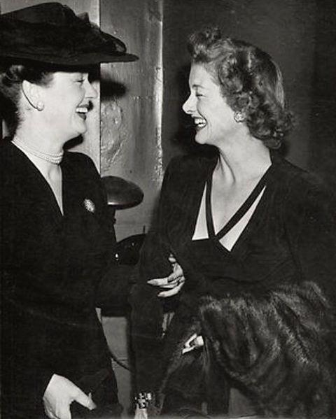 Rosalind Russell & Myrna Loy
