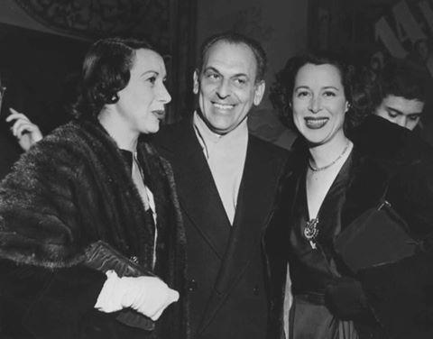 Arlene Francis, Moss Hart and Kitty Carlisle
