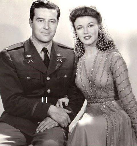 RAY MILLAND & GINGER ROGERS