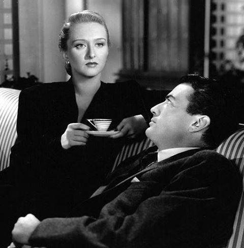 Gregory Peck & Celeste Holm