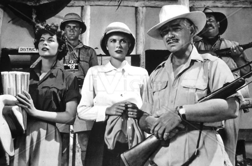 Grace Kelly, Clark Gable and Ava Gardner