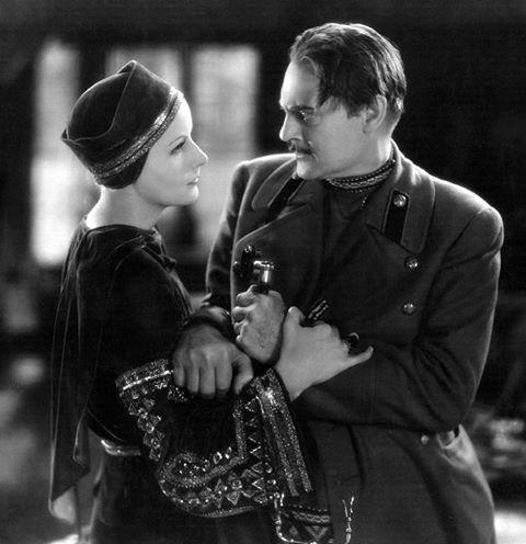 Lionel Barrymore & Greta Garbo