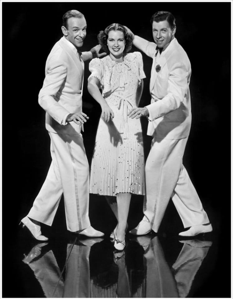 Fred Astaire, Eleanor Powell, and George Murphy in Broadway Melody of 1940