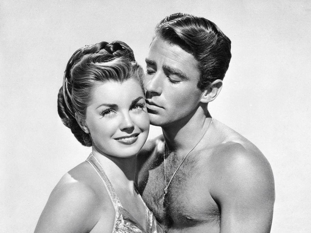 Esther Williams and Peter Lawford