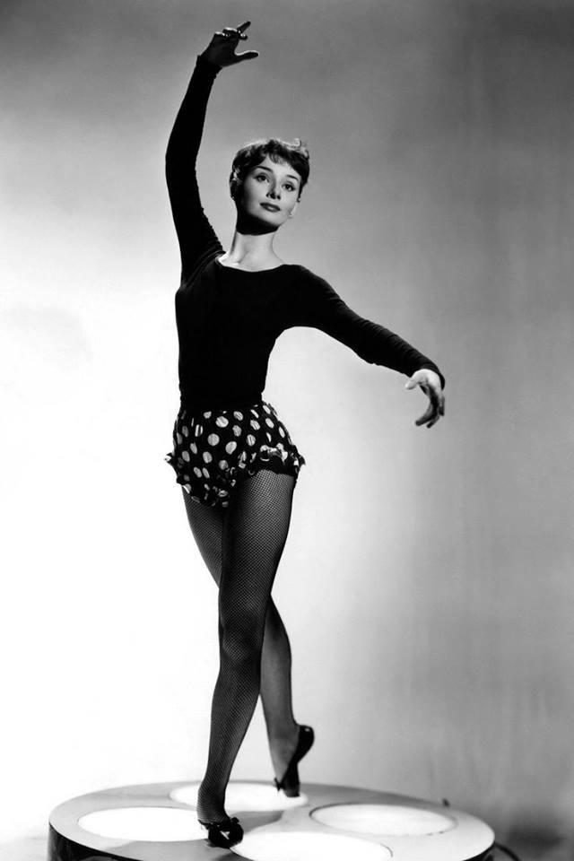 Young Audrey Hepburn