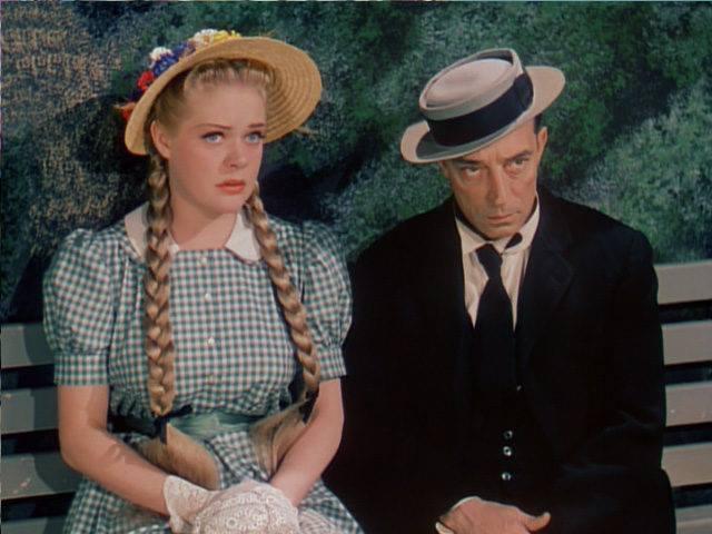 Buster Keaton and Alice Faye